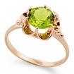 Золотое кольцо с хризолитом SL-0221-311 весом 3.1 г  стоимостью 16200 р.