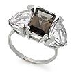 Серебряное кольцо с аметистом и раухтопазом SL-02133-489 весом 4.89 г  стоимостью 4350 р.