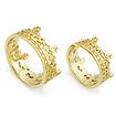 Золотое кольцо обручальные на заказ SLY-5001-350 весом 9.5 г  стоимостью 61750 р.