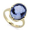 Золотое кольцо с камеей SLK-0285-450 весом 4.07 г  стоимостью 28084 р.