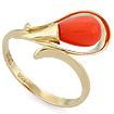 Золотое кольцо с кораллом SL-2866-280 весом 2.77 г  стоимостью 20775 р.