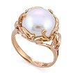 Золотое кольцо с крупным жемчугом  SL-2120-731 весом 7.31 г  стоимостью 31433 р.