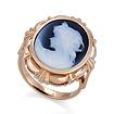 Золотое кольцо с камеей SL-2226-685 весом 6.51 г  стоимостью 33700 р.