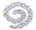 Мужской браслет из серебра SL-26004-1884 весом 17 г  стоимостью 4800 р.