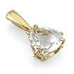 Золото с горным хрусталем SL-5852-238 весом 2.38 г  стоимостью 10710 р.