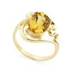 Золотое кольцо с гелиодором SLK-0280-395 весом 3.96 г  стоимостью 25500 р.