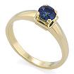 Золотое кольцо с сапфиром SL-17801-282 весом 2.82 г  стоимостью 28500 р.