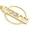 Брелок из золота Ниссан TG-19001-650 весом 6.45 г  стоимостью 22575 р.